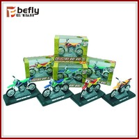 Die-cast sliding toy mini motorcycle