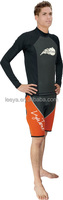 Men's mesh skin rash guard lycra swimming suit L-02