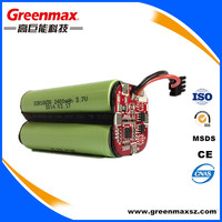 18650 2400 4.8V LI-ION Battery pack
