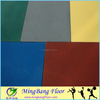 epdm rubber flooring/ gym floor for interlock tile