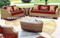 4pcs indoor rattan furniture