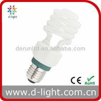 2013 Popular Design! Power Saving 15W Half Spiral Lamp