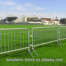 crowd control barrier tube fencing