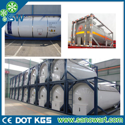 17-20 ton ISO tank R134a gas export to USA