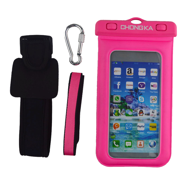 Beach Sports phone case for s5, running man armband waterproof case for samsung galaxy s5