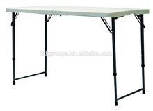 blow moulding HDPE home or outdoor banquet picnic folding table