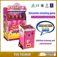 Fast Gunman crazy laser shooting simulator game machine electronic shooting range for sale
