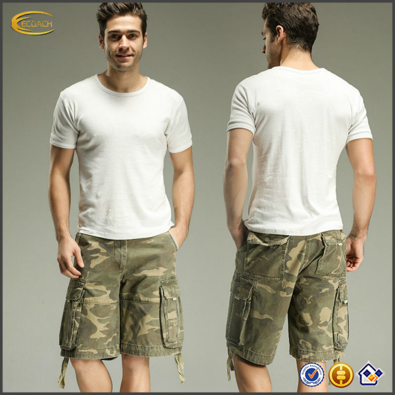 OEM supplier China new casual camo military army cargo mens shorts