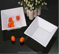 Stackable disposable plastic tray