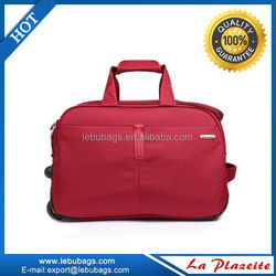 Rolling trolley duffel bag, cheap promotional Travel Bag Price