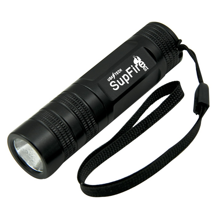 Supfire mini keychain rechargeable flashlight S1with 16340 battery