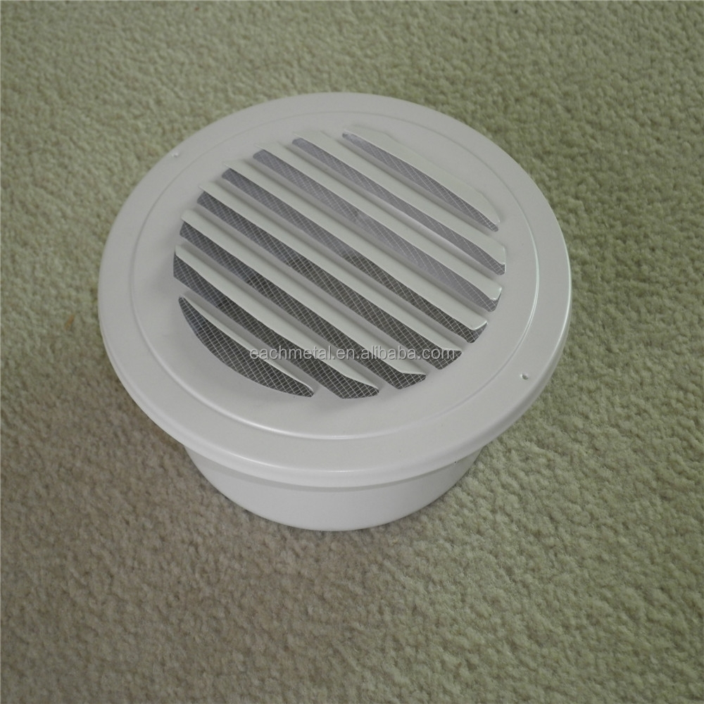 aluminum air vent cap or stainless steel cap