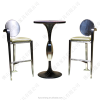 Iran night club cheap high top bar tables and chairs