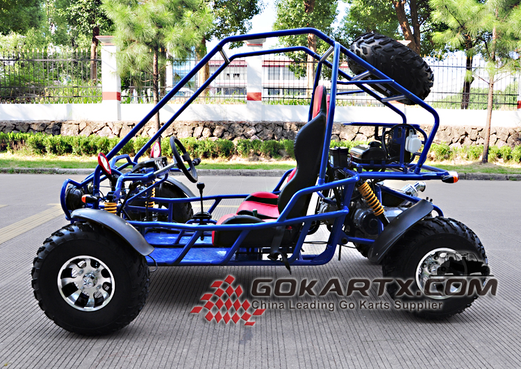 factory supply cheap 300cc Water Cooled off road Go kart for sale adult go kart frames