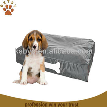 dog bed grey