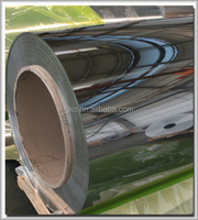 gold/silver/copper color mirror finished aluminum coil