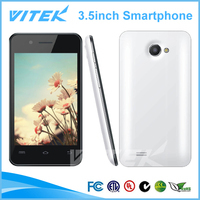 Hot dual sim cheap mtk6577 dual core best 3.5 inch android smartphone