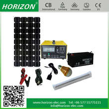 LCD Display DC/AC 100W panel solar kit 300W inverter, 50AH Battery solar system pakistan lahore price