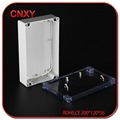 Clear lid ABS electrical junction box