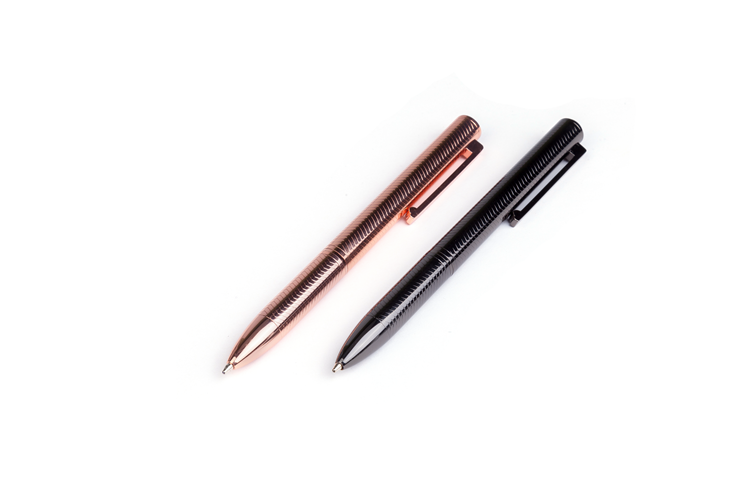 Wholesale China Special Design Business Gift Promotional Black Luxury Ballpoint Pen