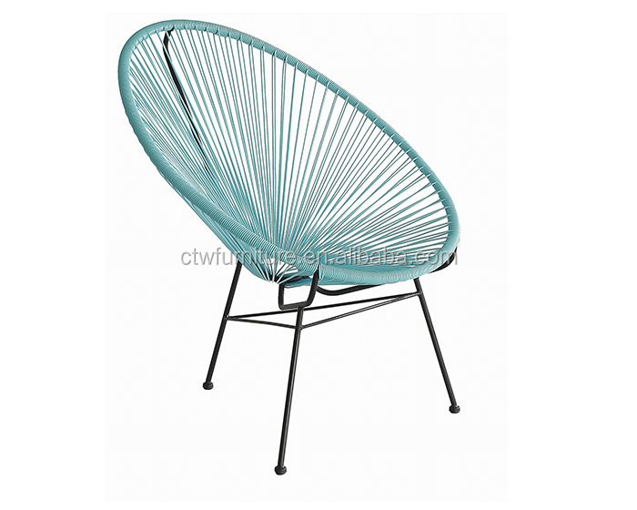 Leisure Garden Cheap Outdoor Acapulco Peacock Chair Rattan