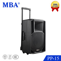High power portable active pa speaker karaoke best sound quality