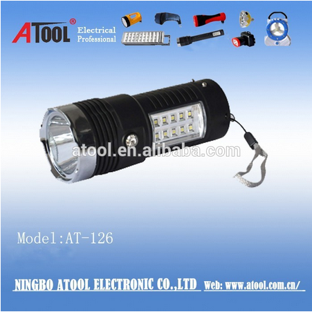high power rechargeable led flashlights and torches