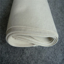 Pressed industrial wool felt