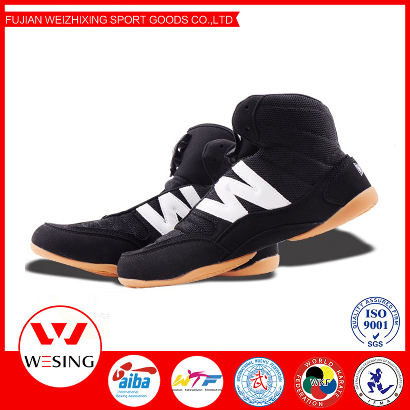 Wushu Sanda Wholesale Wrestling shoes China for training and competition 2603A1