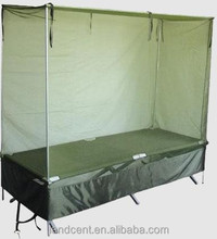100% Polyester Olive Green Rectangular Army Mosquito Net
