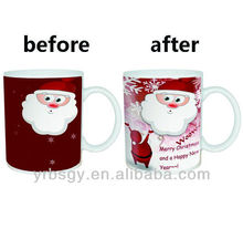 christmas santa color changing mug christmas 2013 new hot items gifts