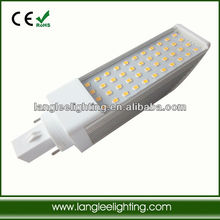 Replacement 8W plc led light G24d G24q high lumen competitve price with 2year warranty