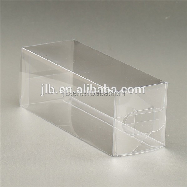 Environment PVC transparent plastic stationery packaging box , cheap stationery box