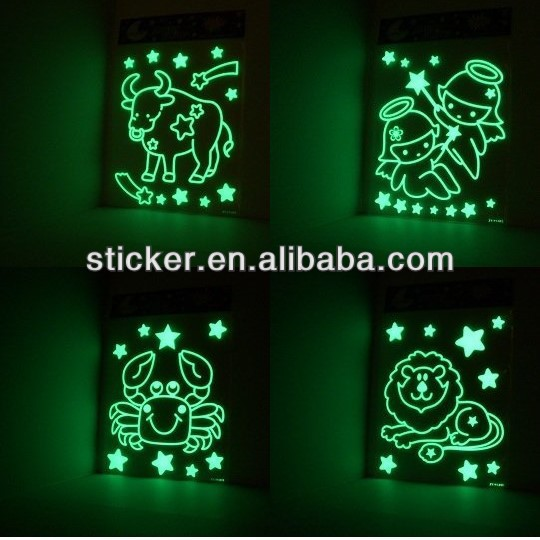 glow in the dark ceiling wall stars stickers