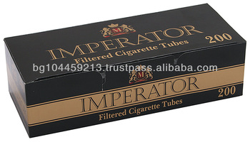 Filtered Cigarette Tubes Imperator Black