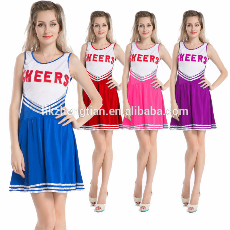 Walson ropa mujer cheap halloween carnival party cheerleading costume many colorserotic lingerie