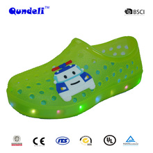 New kid fashion LED product good quality new style EVA light sport garden shoes