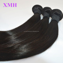 Best sale virgin straight hair weave bundles color #1 jet black brazilian hair