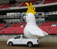 2016 new inflatable cocky , inflatable easter show parade cocky
