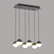 New design matt black color led 30W ceiling hanging lights and lamps for home dining room LED designer pendant lighting
