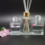 Wholesale empty clear aroma reed diffuser glass perfume bottle