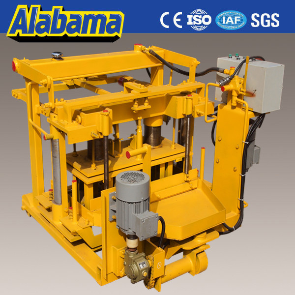 factory export directly concrete plan hollow block machine