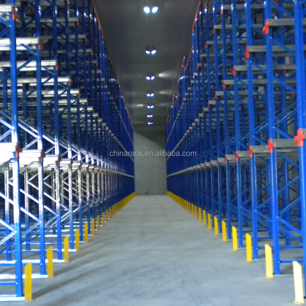 Warehouse steel rack heavy duty adjustable drive in pallet racking system