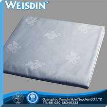 embroidered new style plaid hospital rubber bed sheet