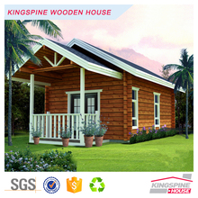 Factory price Prefab Log House Export to India Wooden Home KPL-001