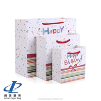 2016 everyday bag happy birthday gift bag for promotional and retail