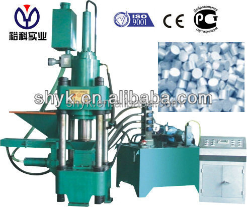 Factory direct supply metal scraps Briquette machine from Shanghai Yuke Industrial