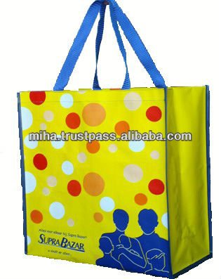 PP woven shopping bags production in Vietnam, export worldwide