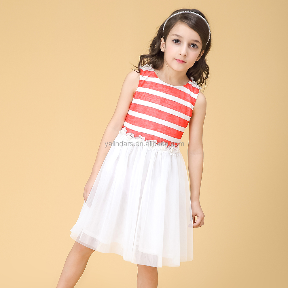 Beautiful Formal New Design Kids Princess Dress Girls Photo for Girls