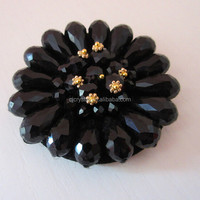 Beaded Shoe Clips Flower Shaped Shoe